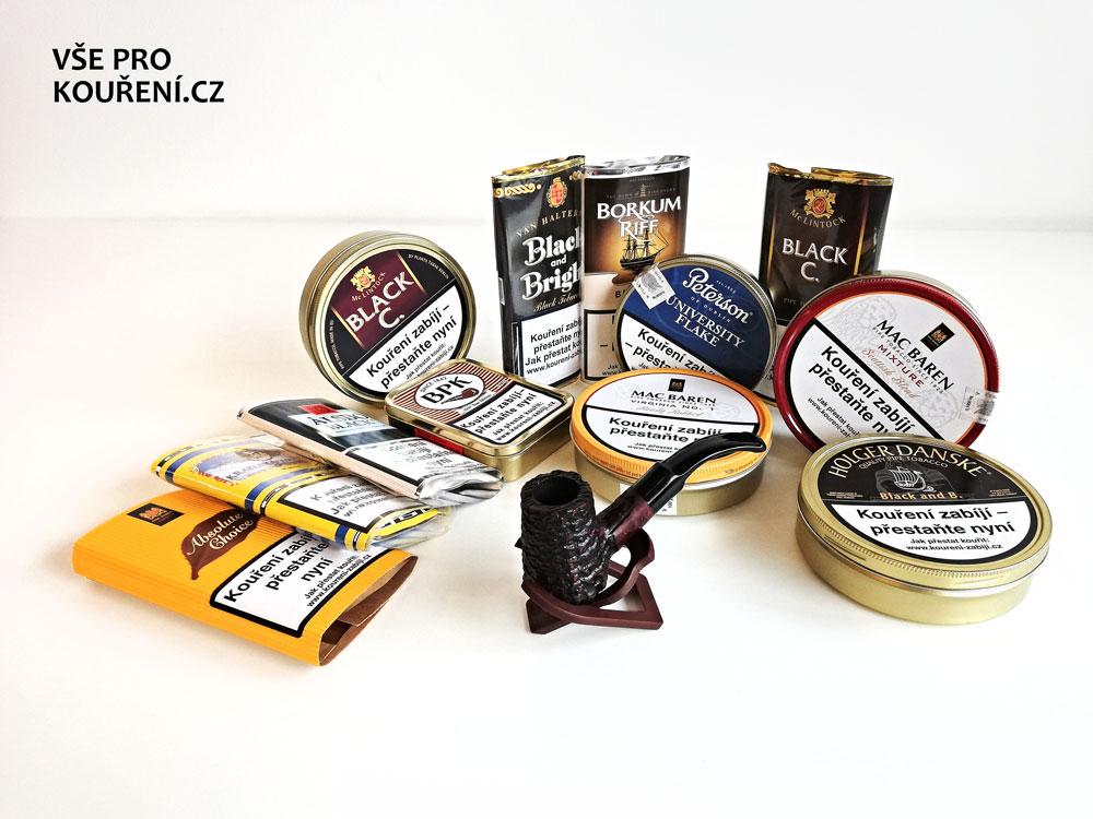 FortisDB - druhy dýmkových tabáků